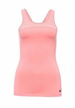 Спортивный топ  розовый цвета