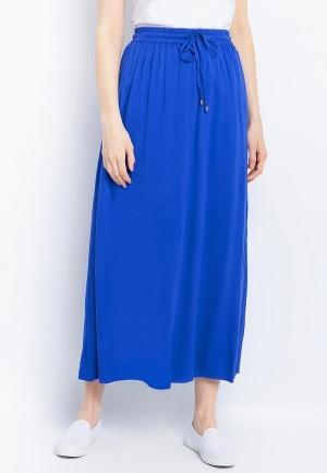 Юбка  синий цвета