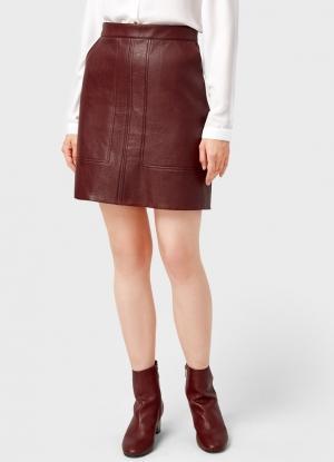 1f77feea571 Кожаная юбка-трапеция Ostin за 999 руб купить в интернет-магазине
