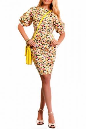Платье  Золотистый цвета