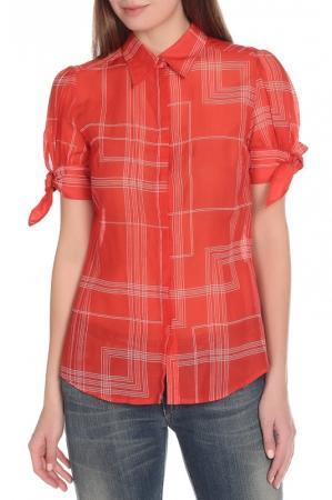 Блузка  Кирпичный цвета