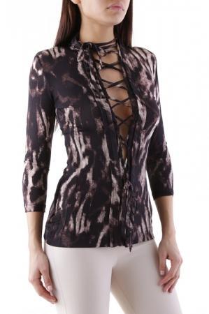 Блузка  Dark brown цвета