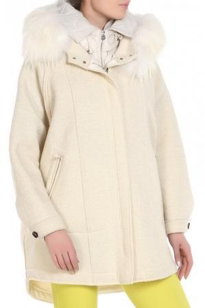 Пальто  - Светло-бежевый цвет