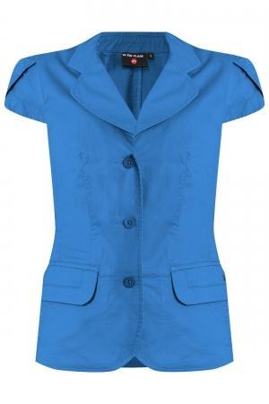 Жакет  полуночно-синий цвета
