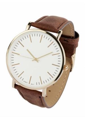 Часы  коричневый цвета