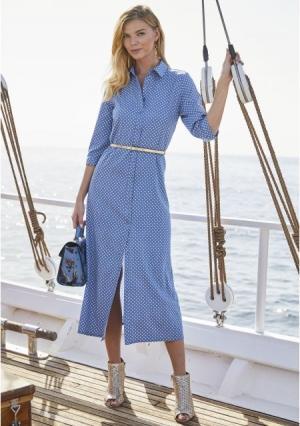 61155946ab33818 Платье MY STYLE 1026035 синего цвета Quelle за 2 449 руб. купить в ...