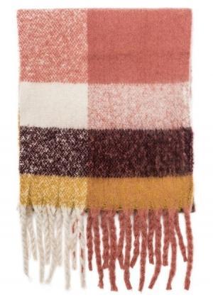 Шарф  разноцветный (мультиколор) цвета