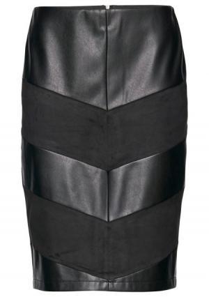 Юбка  черный цвета