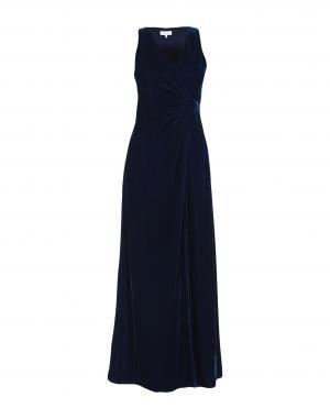 Длинное платье  Синий,Фиолетовый,Черный цвета