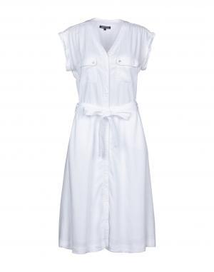 Платье до колена белого цвета Tommy Hilfiger за 12 250 руб. купить в ... 25ca6bbf62bd6