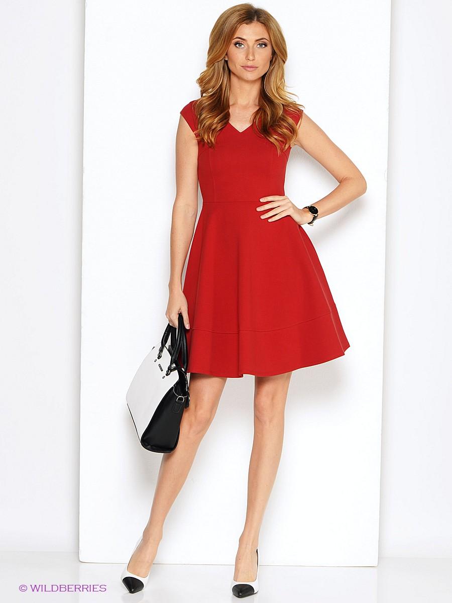 Красные платья новинки