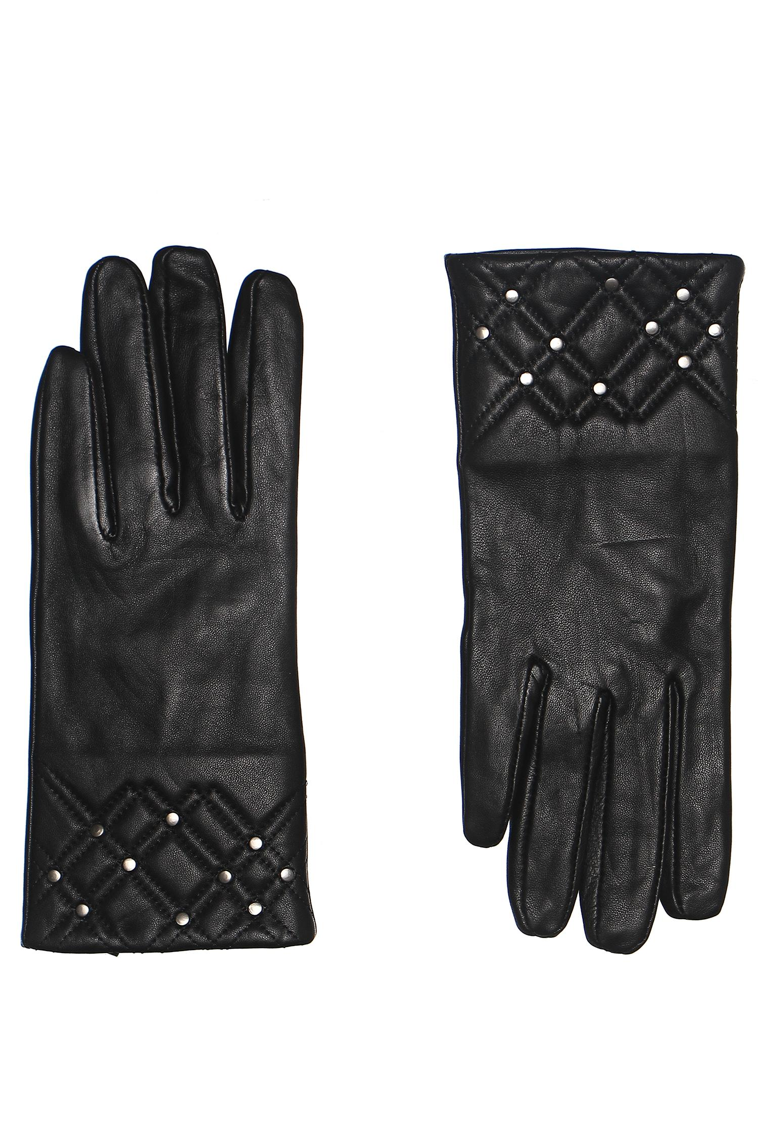 Перчатки  - черный цвет