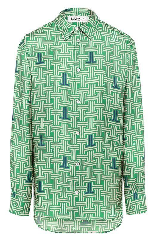 Блуза  - Зеленый цвет