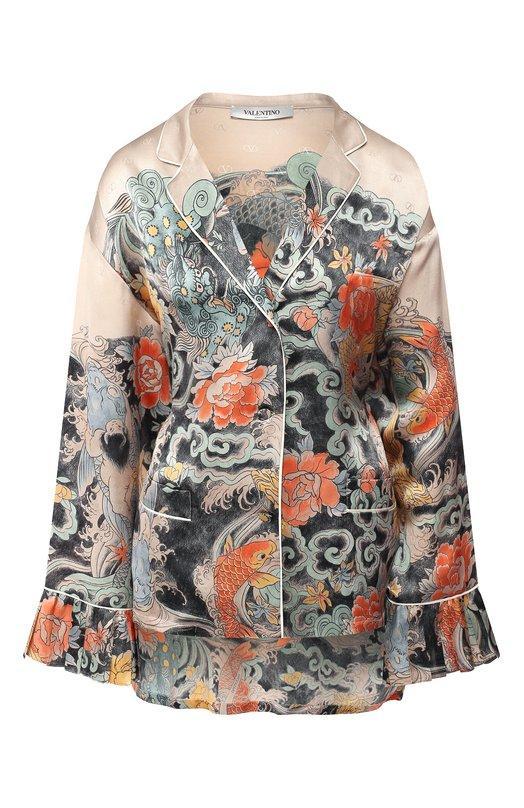 Блуза  - Разноцветный цвет