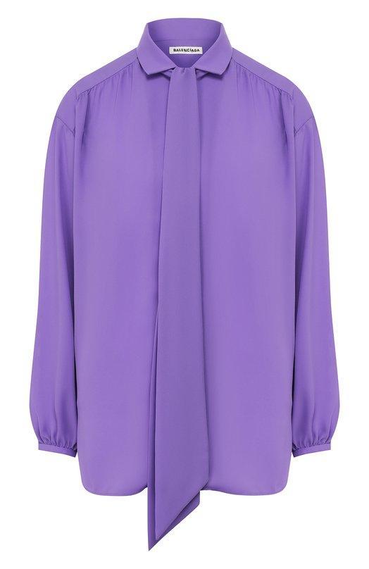 Блуза  - Фиолетовый цвет