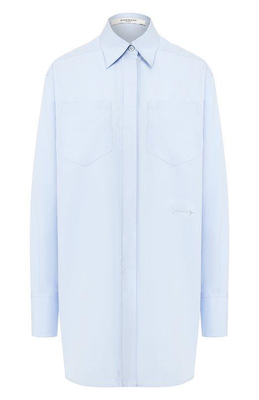 Блуза  - Голубой цвет