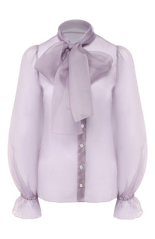 Блуза  - Сиреневый цвет