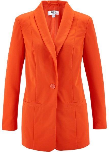 Пиджак  - мандариново-красный цвет