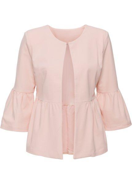 Пиджак  - бежевый матовый цвет