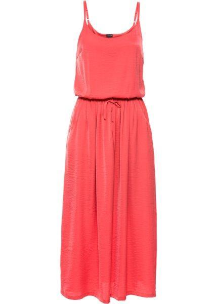 Платье  коралловый цвета