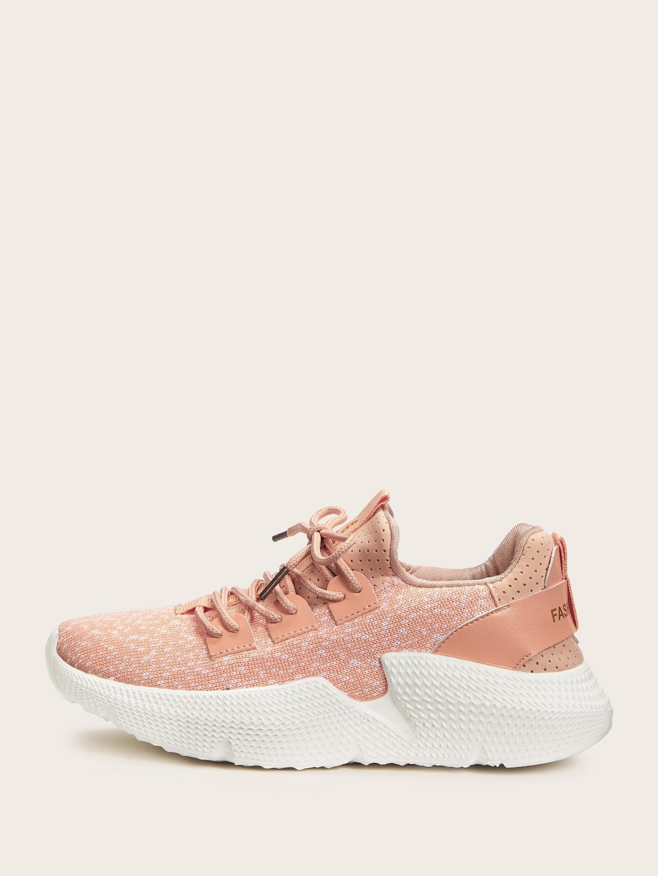 Кеды  - Розовый цвет
