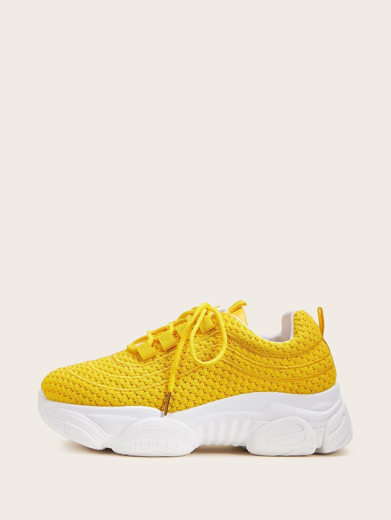 Кеды  - Жёлтый цвет
