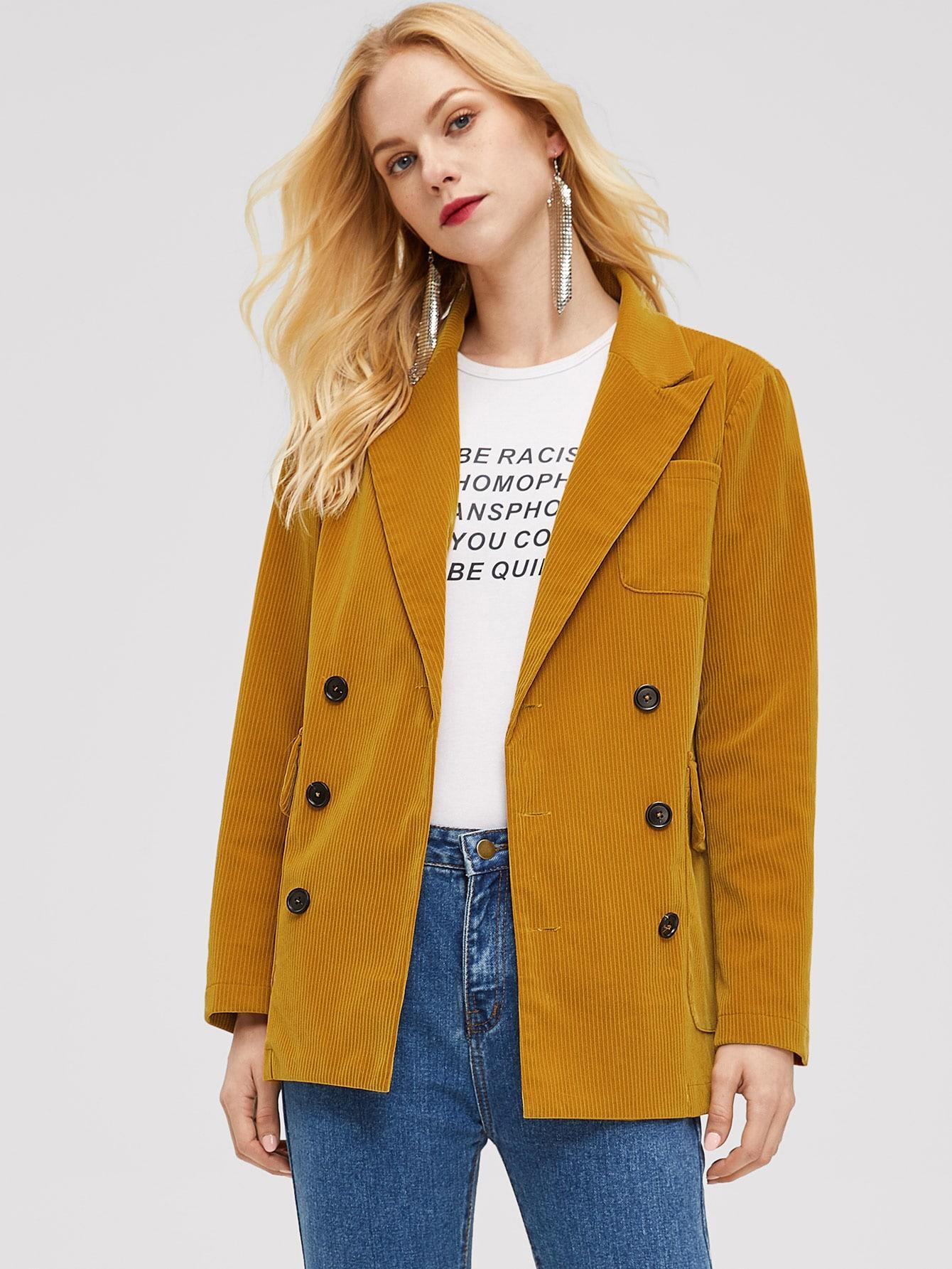 Пальто  Зелёные цвета