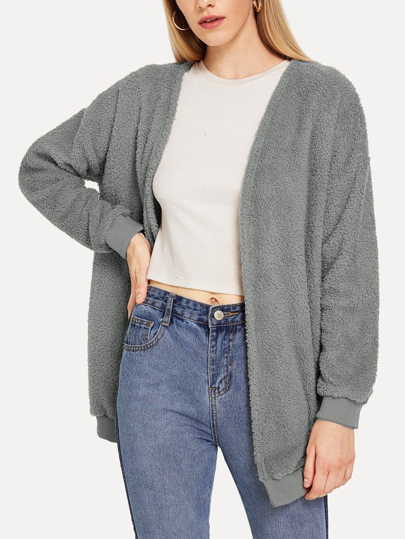 Пальто  Серый цвета
