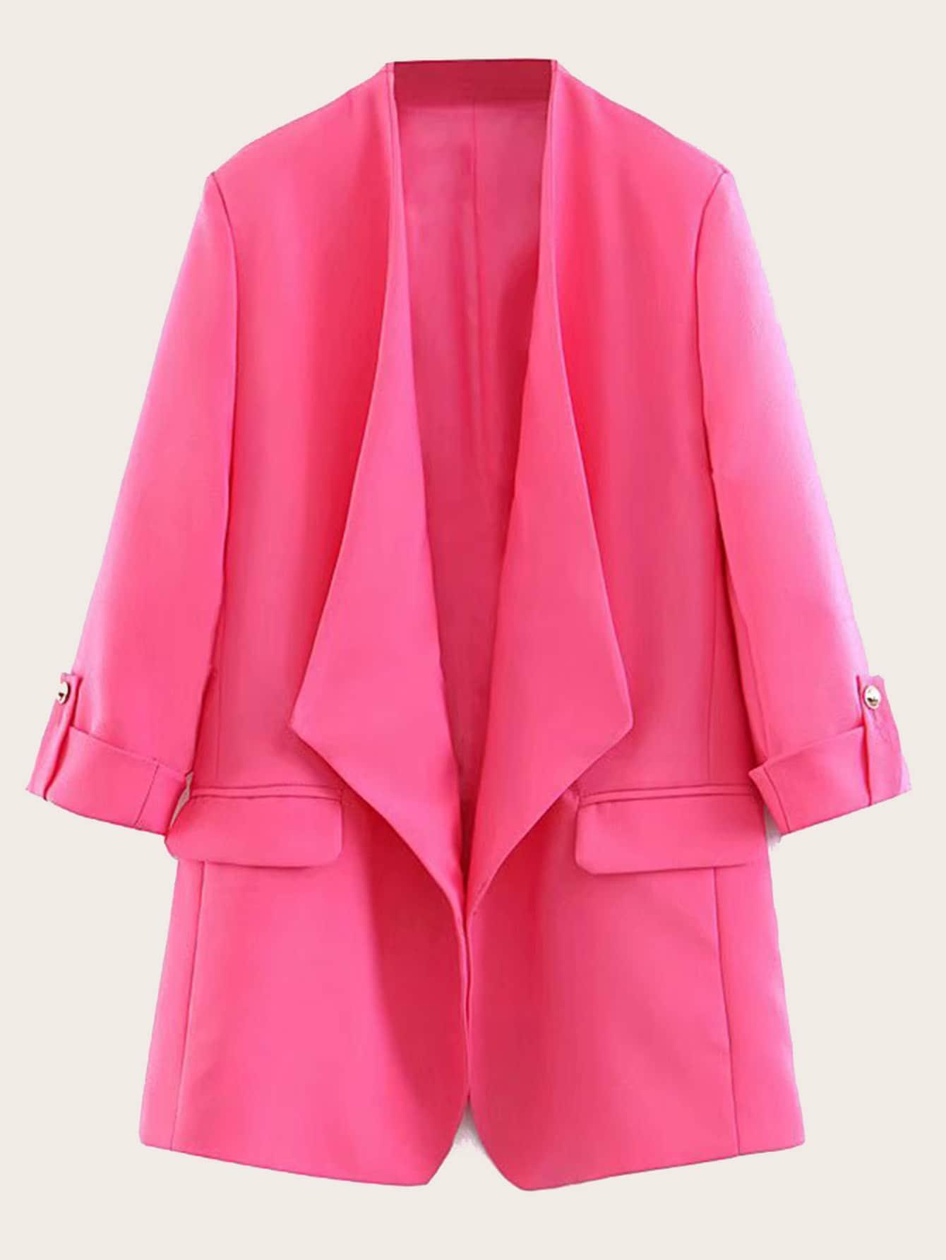 Пиджак  - ярко-розовый цвет