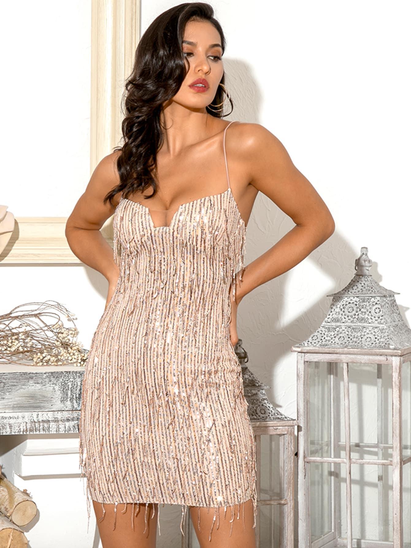 Платье  - Розовые цвет