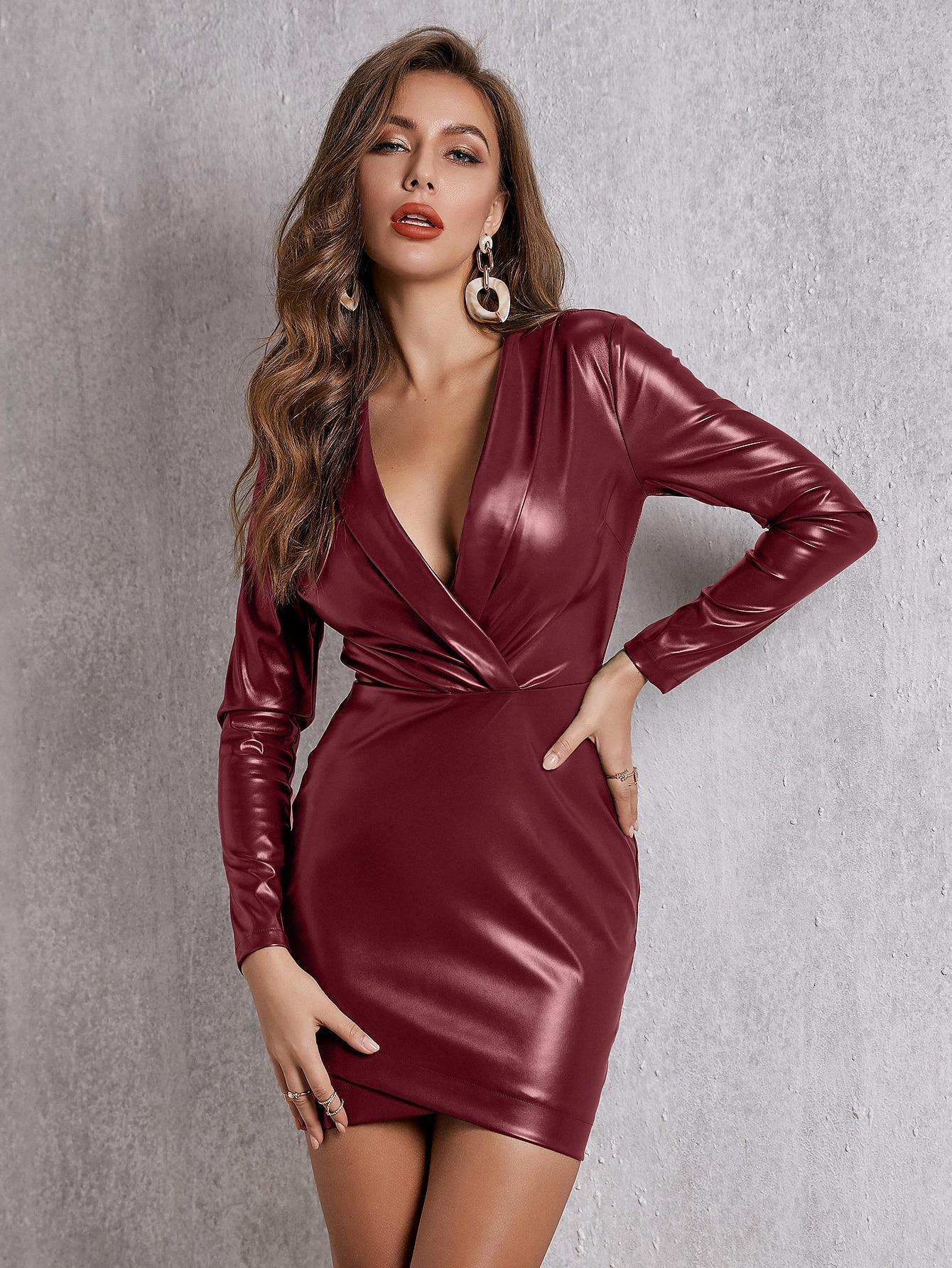 Платье  - Бургундия цвет