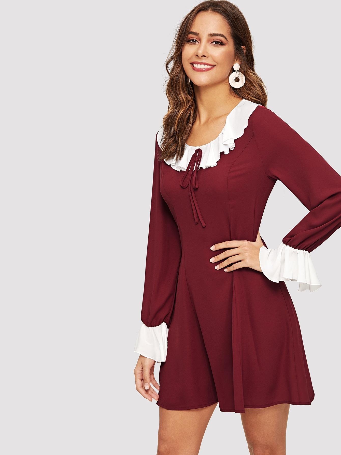 Платье  Бургундия цвета