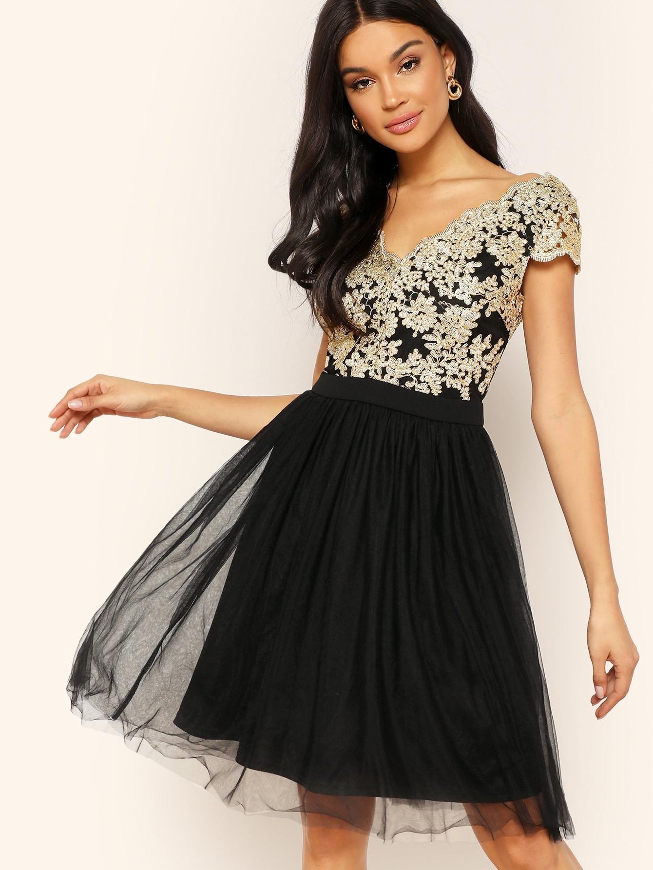 Платье  Коричневые цвета