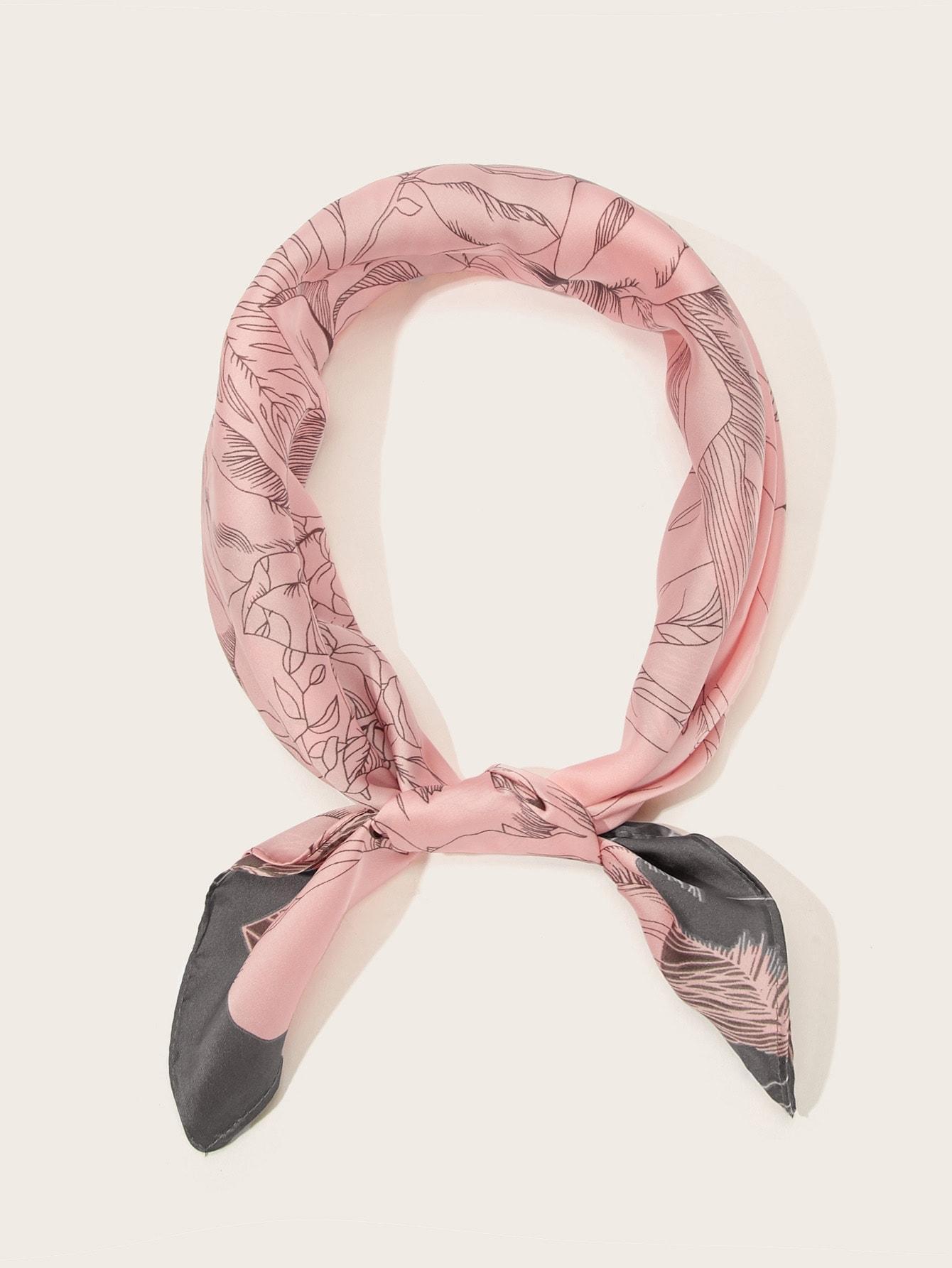 Шарф  - Розовые цвет