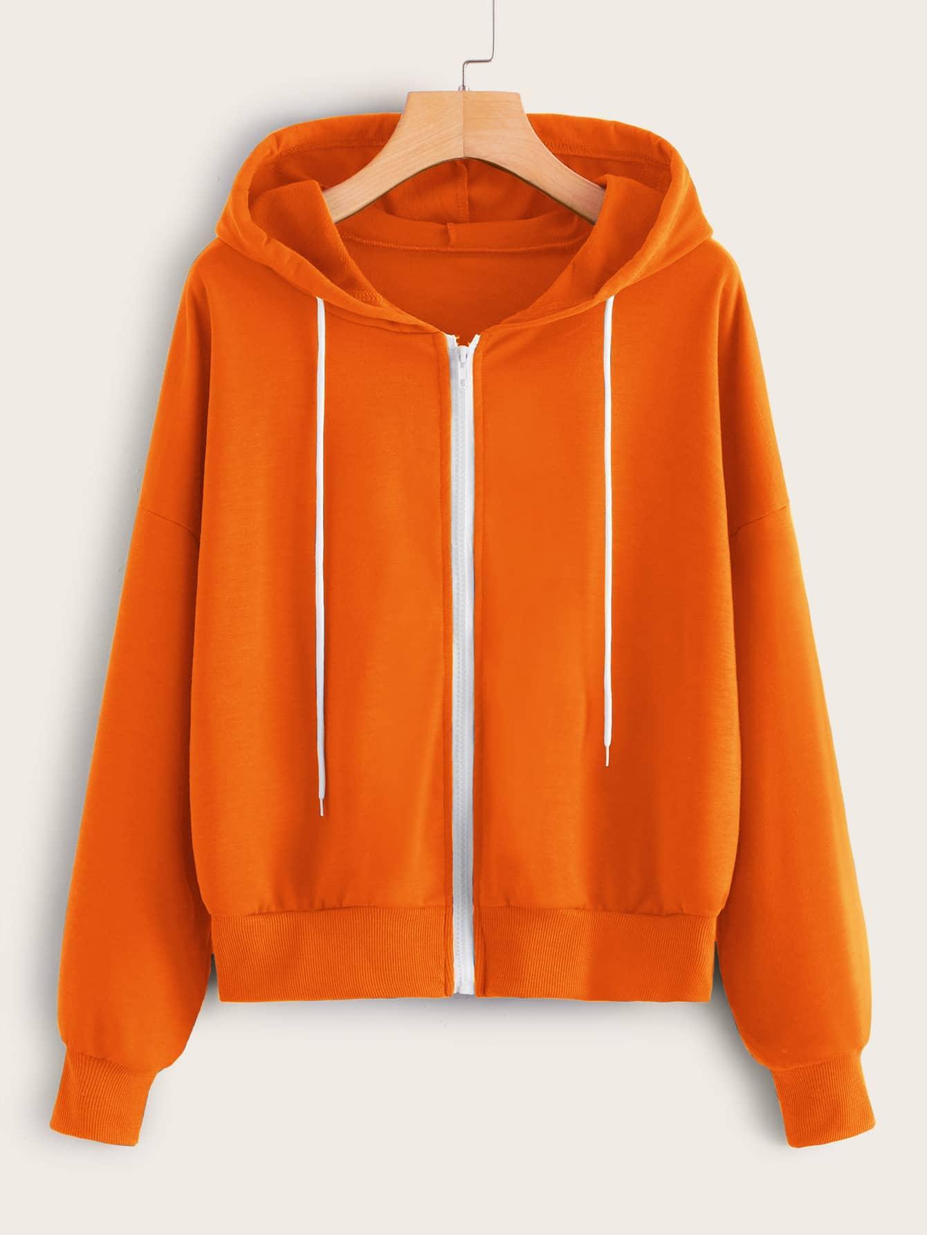 Свитшот  - Оранжевый цвет
