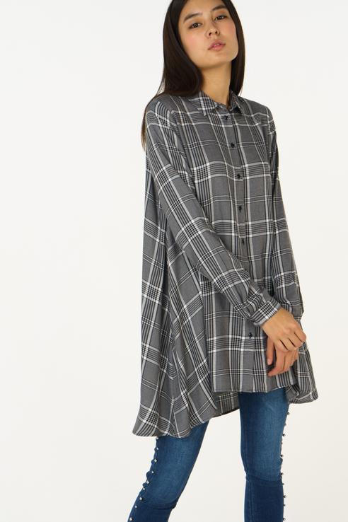Блузка  - Серый цвет