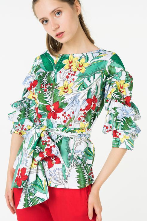 Блузка  - Мультиколор цвет