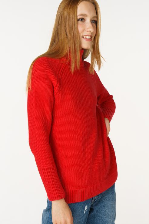Джемпер  - Красный цвет