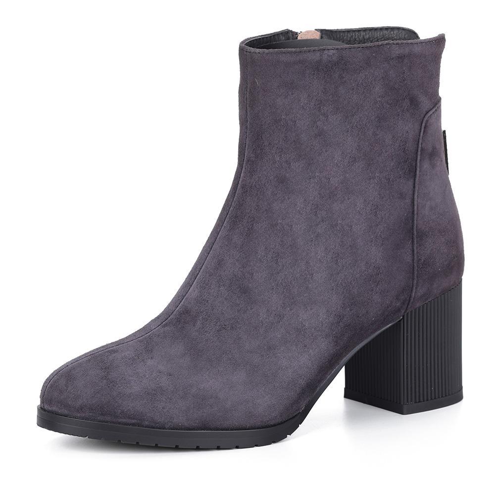 Ботильоны  - фиолет. цвет