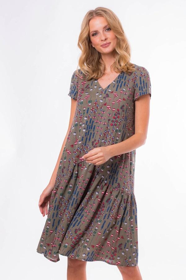 Платье  - Разноцветный цвет