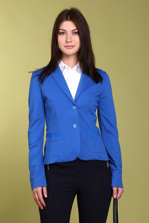 Жакет  Синий цвета