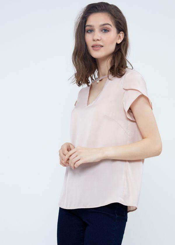 Блузка   цвета
