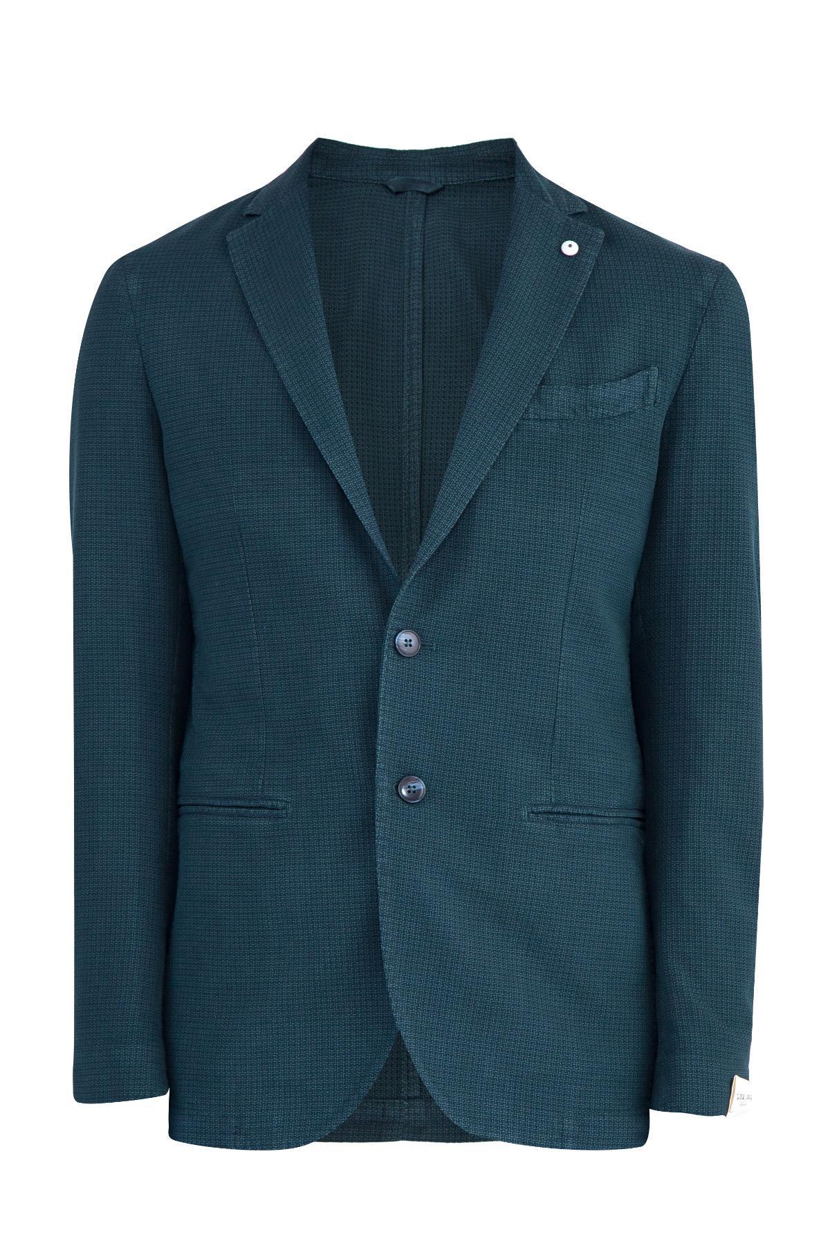 Пиджак  - Зеленый цвет