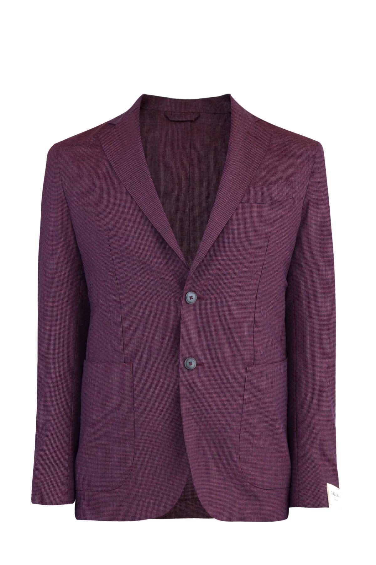 Пиджак  - Бордовый цвет