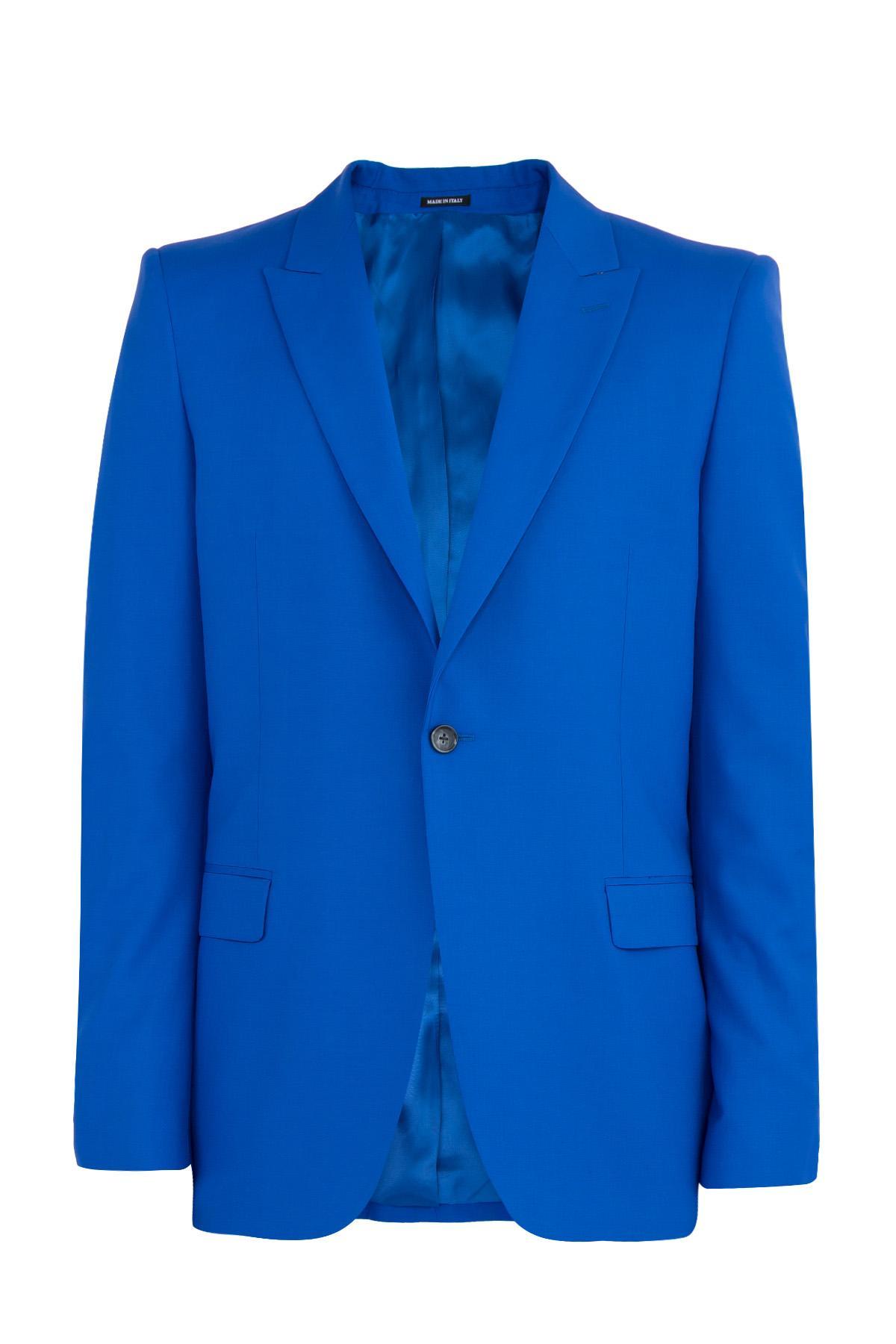 Пиджак  - Голубой цвет