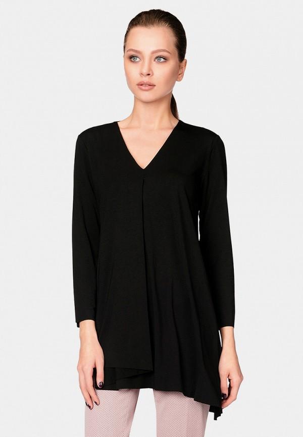 Блуза  - черный цвет