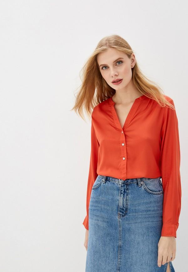 Блуза  - оранжевый цвет
