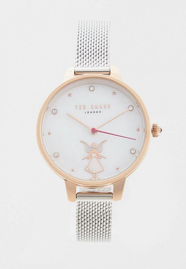 Часы  серебряный цвета