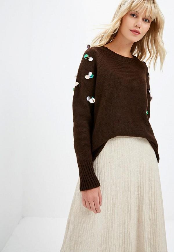 Джемпер  коричневый цвета