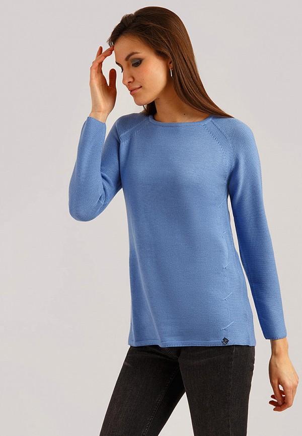 Джемпер  синий цвета